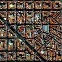 Distrito de L'Eixample, en Barcelona, España. Imagen Cortesía de DigitalGlobe