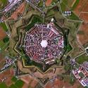 Palmanova, Italia. Imagen Cortesía de DigitalGlobe