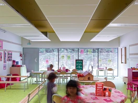 Lucie Aubrac School / Laurens&Loustau Architectes. Image © Stéphane Chalmeau