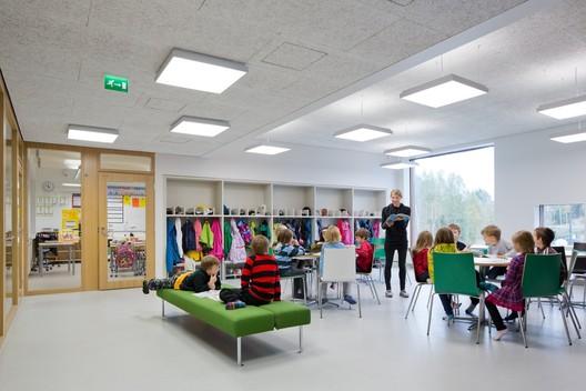 Saunalahti School / VERSTAS Architects. Image © Tuomas Uusheimo