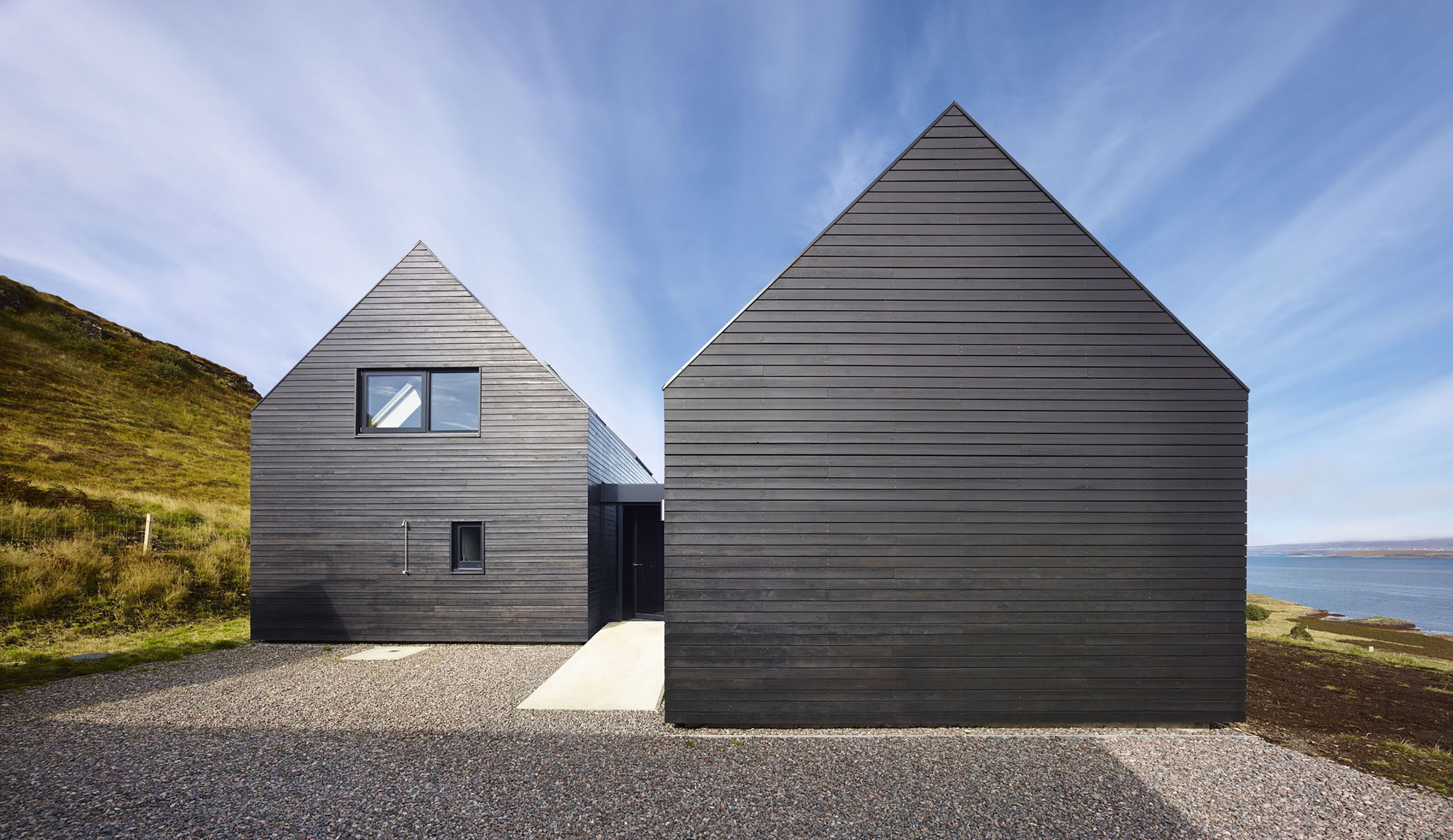 Residencia privada en la Isla de Skye / Dualchas Architects, © Andrew Lee