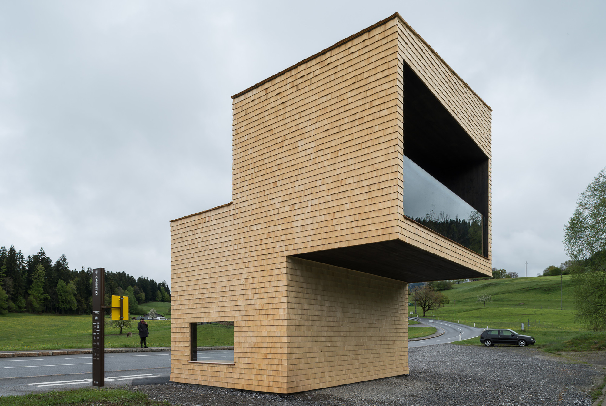 Gallery of bus stop kressbad rintala eggertsson for Architecture 54