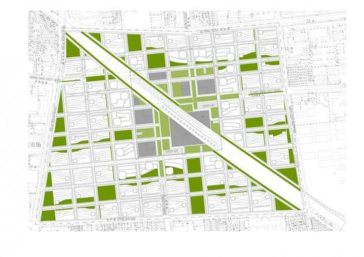 Diagrama / Áreas verdes