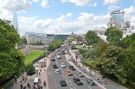 Alcalde de Londres apoya plan de construcción de la ciclovía segregada más larga de Europa