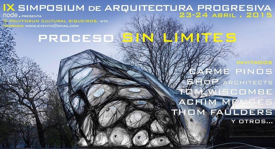 NODE. presenta IX Simposium de Arquitectura Progresiva en México: procesos SIN LIMITES [¡Sorteo cerrado!]