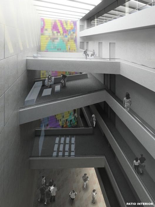 Vista Patio Urbano Interior