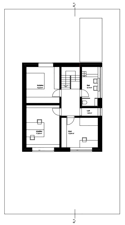 Haus K Second Floor Plan