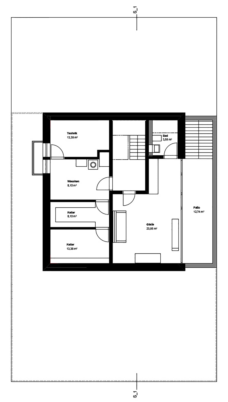 Perfect Haus K,Underground Floor Plan