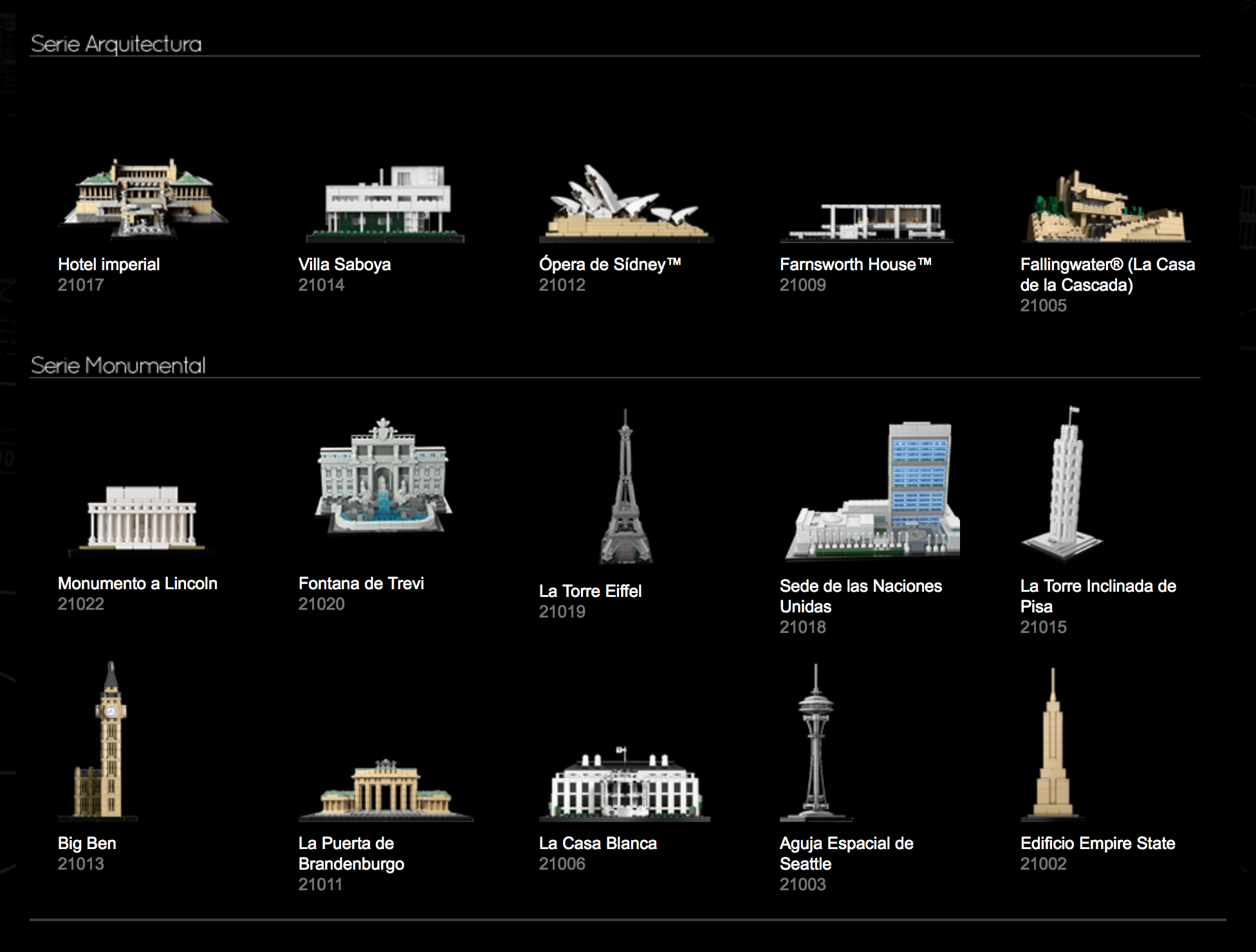 Arte y Arquitectura: 15 ideas LEGO para construir e inspirarte en los tiempos libres, © © LEGO