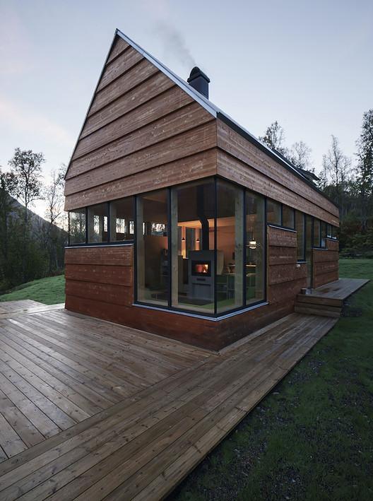 Cabin Laksvatn / Hamran/Johansen Arkitekter, © Ivan Brodey