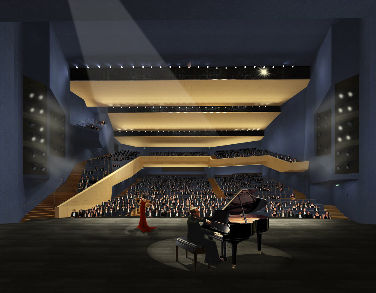 Construction Begins On Open S Pingshan Performing Arts