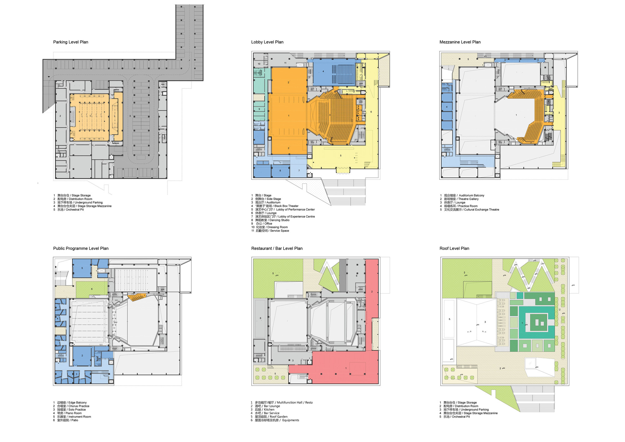Four Square Floor Plan Gallery Of Construction Begins On Open S Pingshan