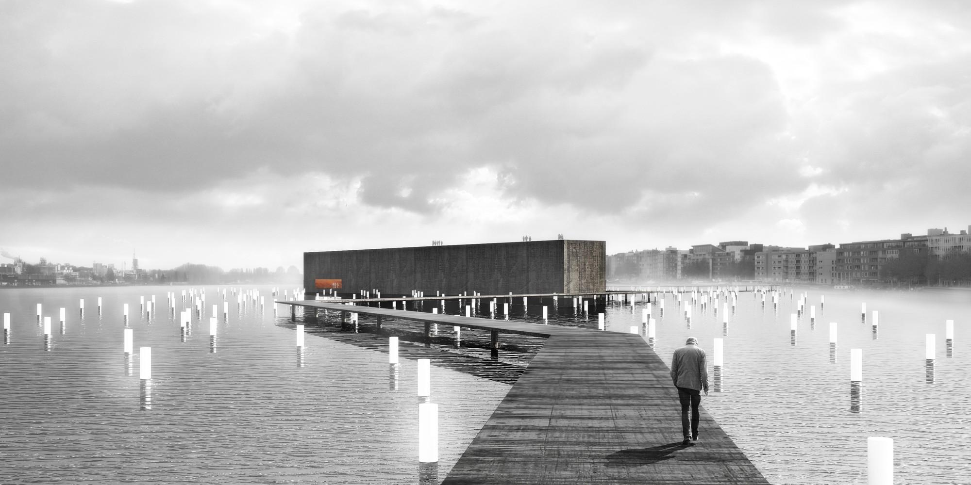 Terceiro Lugar no concurso para o memorial do voo MH17 / aTP arquitectos, Cortesia da equipe premiada com o terceiro lugar