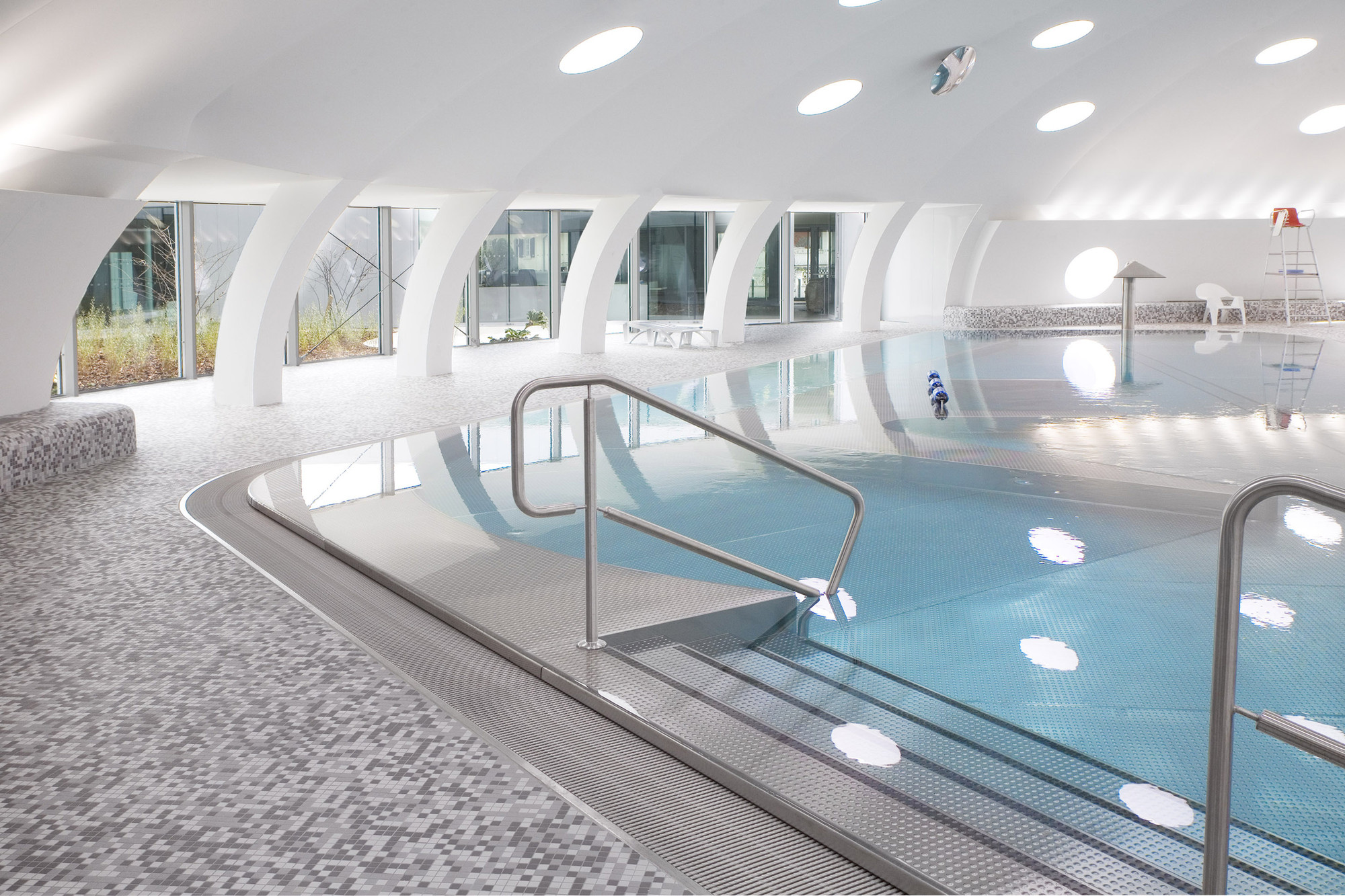 gallery of tournesol swimming pool refurbishment urbane kultur 7. Black Bedroom Furniture Sets. Home Design Ideas
