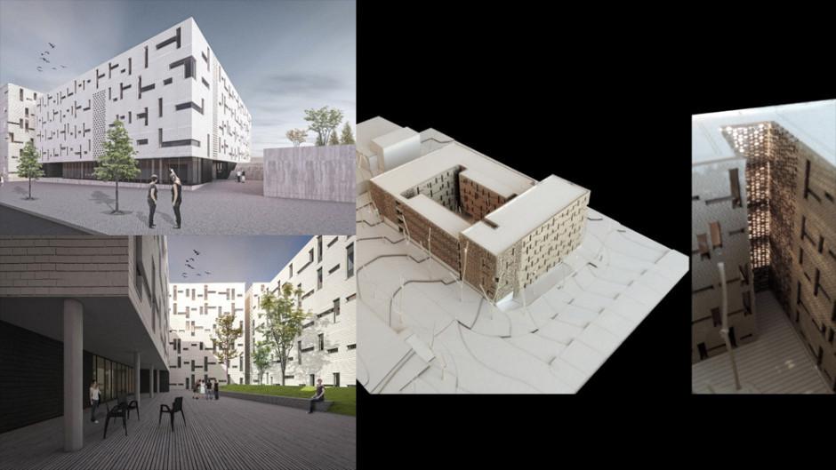 Exposição dos projetos do concurso para a nova Residência Universitária do Polo da Ajuda, em Lisboa
