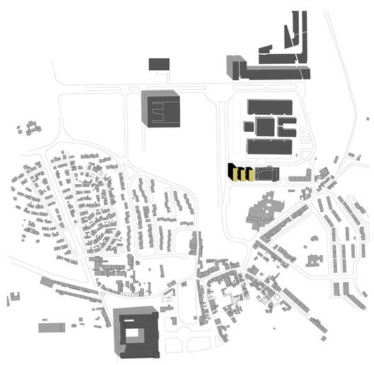 Planta de localização. Image Cortesia de ARX Portugal Arquitectos