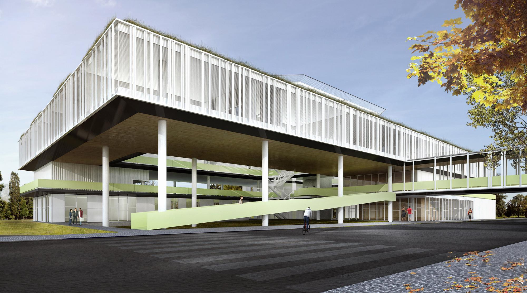 Proposta para o Concurso Anexo da Câmara Municipal de Porto Alegre / Brandão Gabriele Arquitetos, Cortesia de Brandão Gabriele Arquitetos