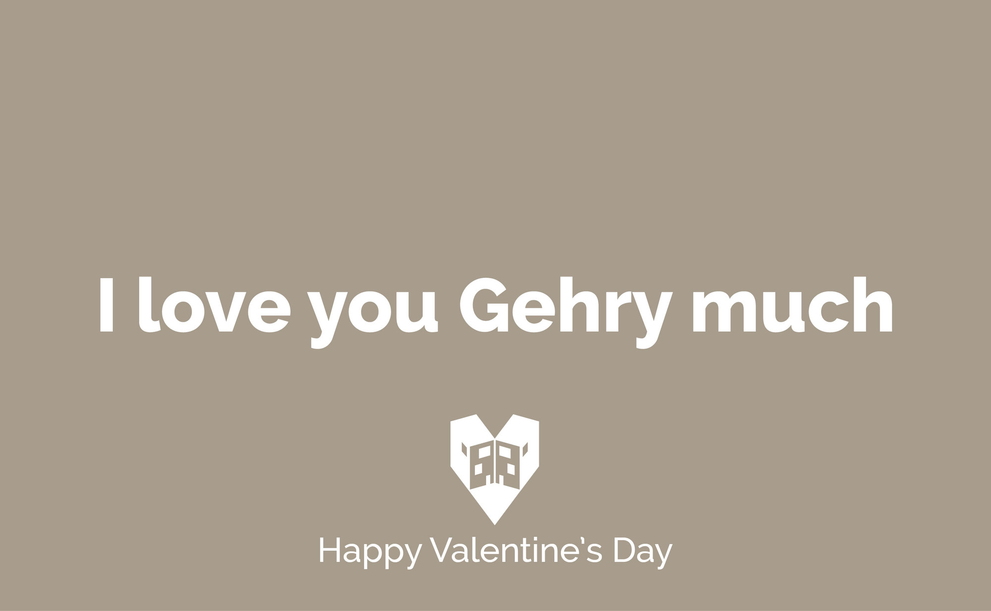 Send These Valentines To the Architects You Love, © ArchDaily