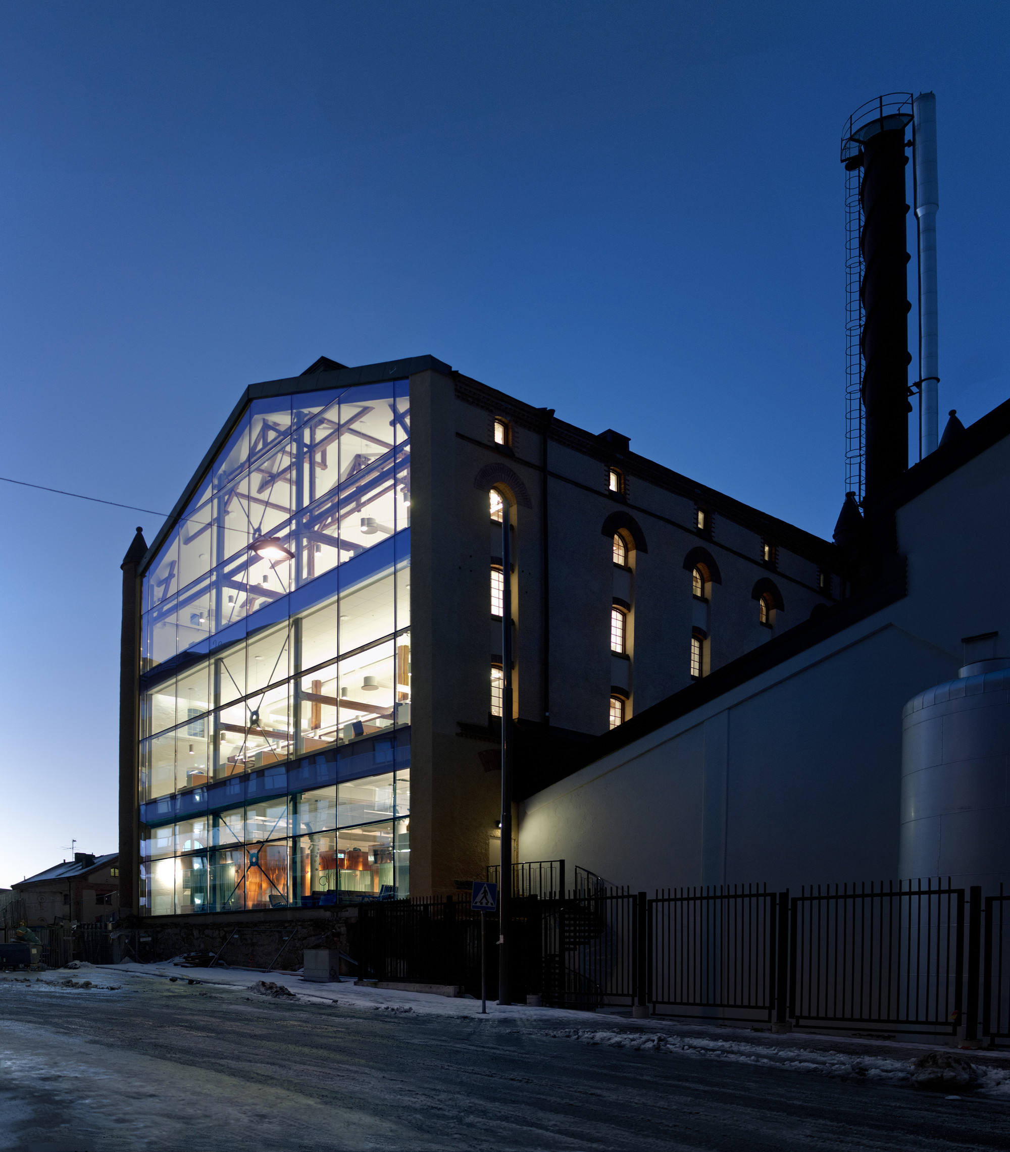 Gallery of octapharma brewery joliark 20 for Architecture 54