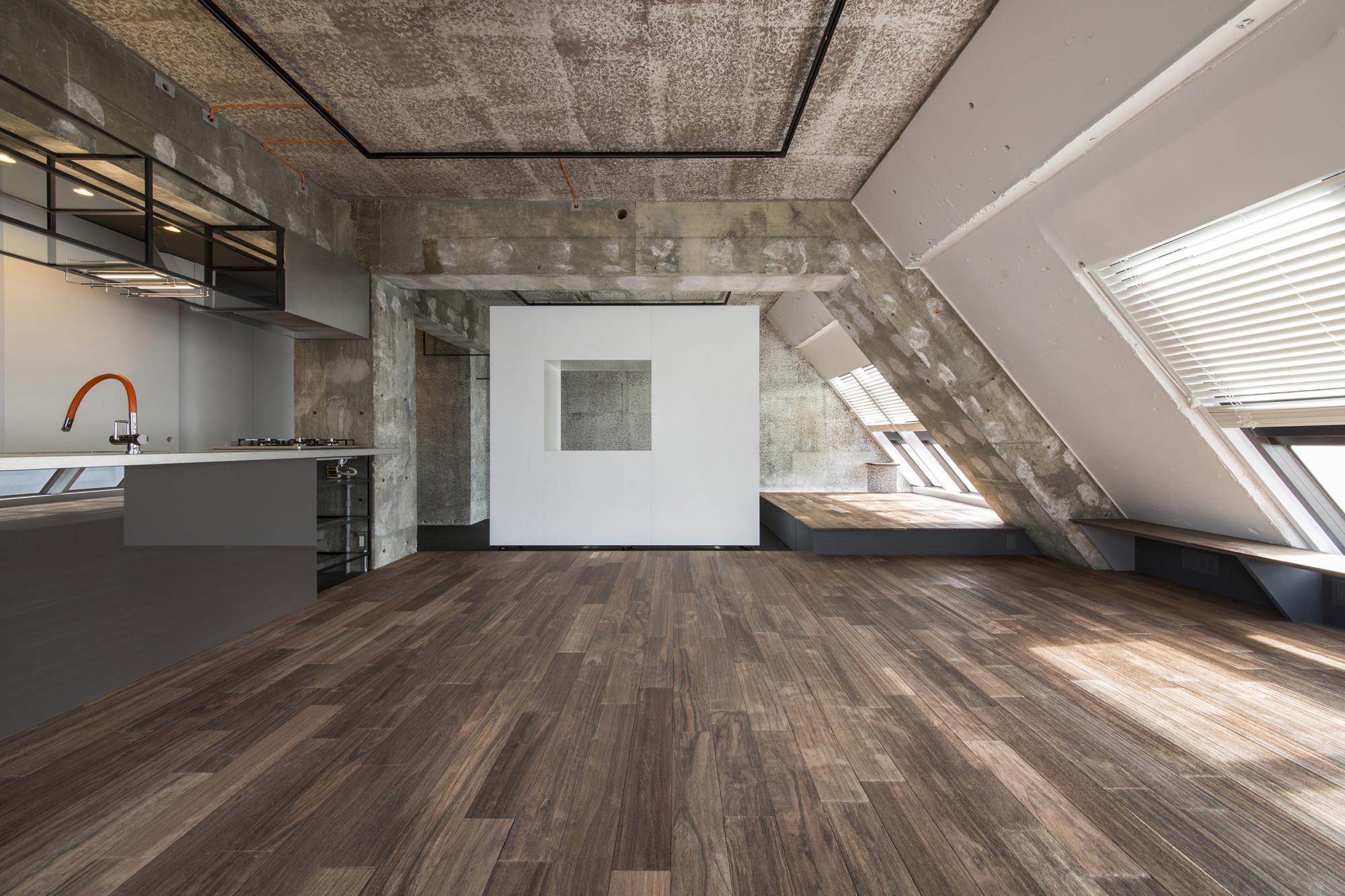 Tokyo Loft G Architects Archdaily