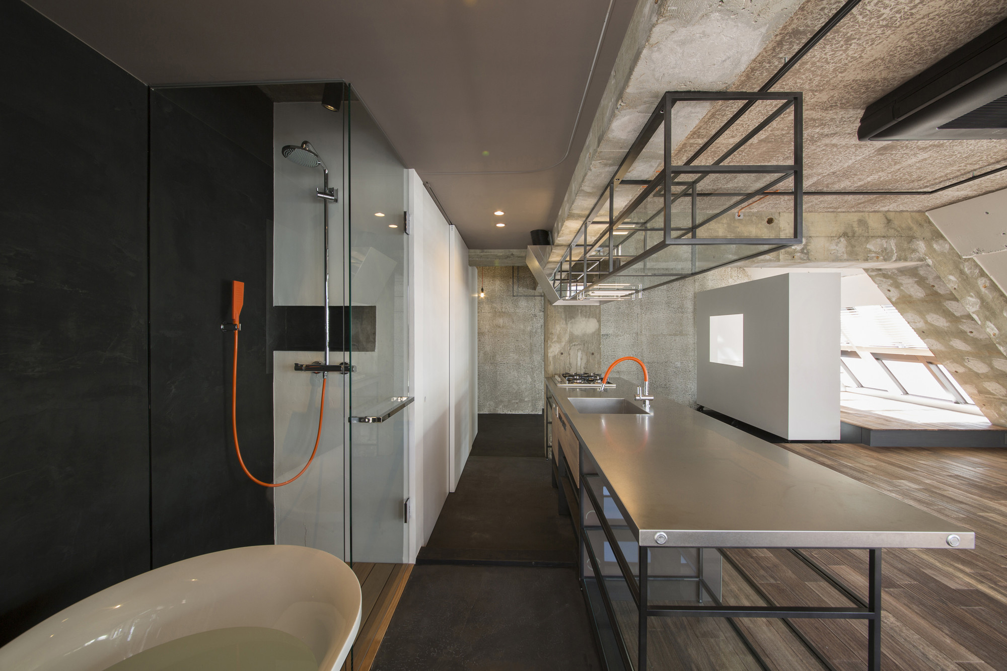 Tokyo loft g architects archdaily