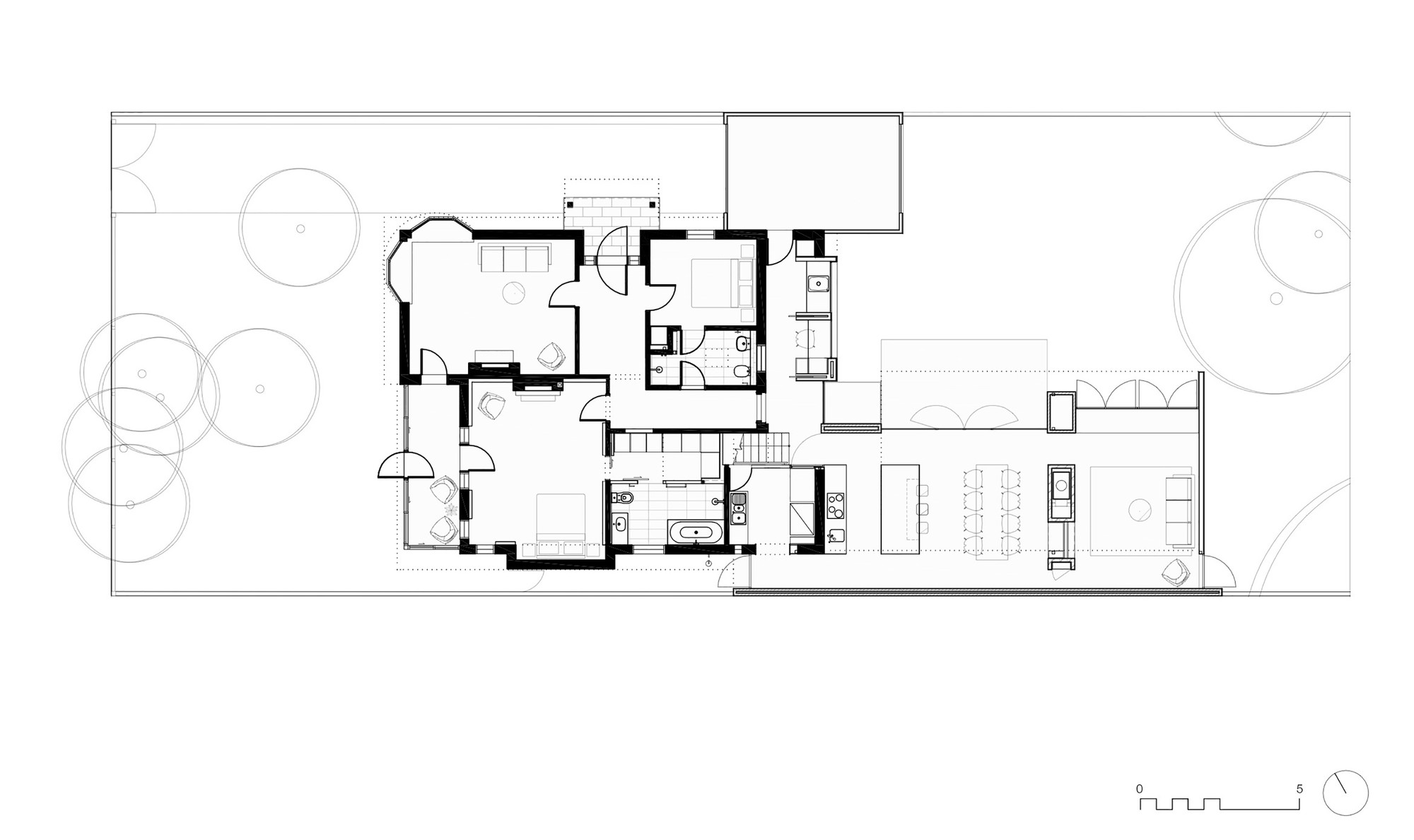 Gallery of elwood house preston lane 16 for 16 brookers lane floor plans