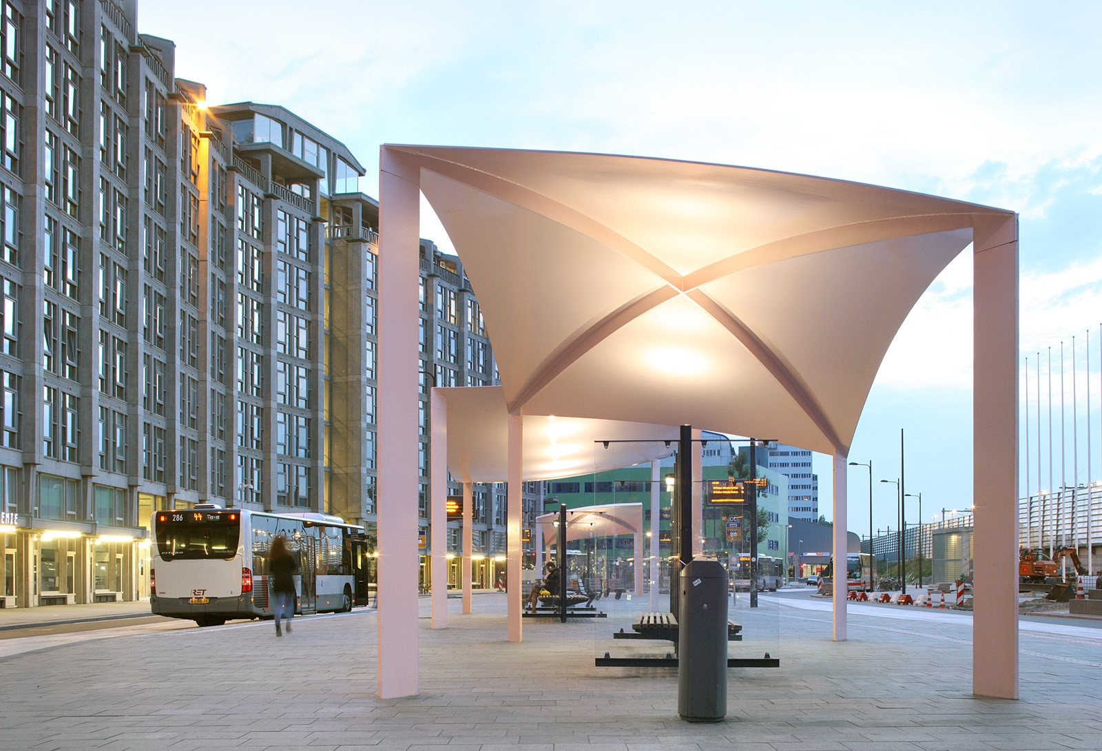 Gallery Of Bus Station Canopies Maxwan Architects
