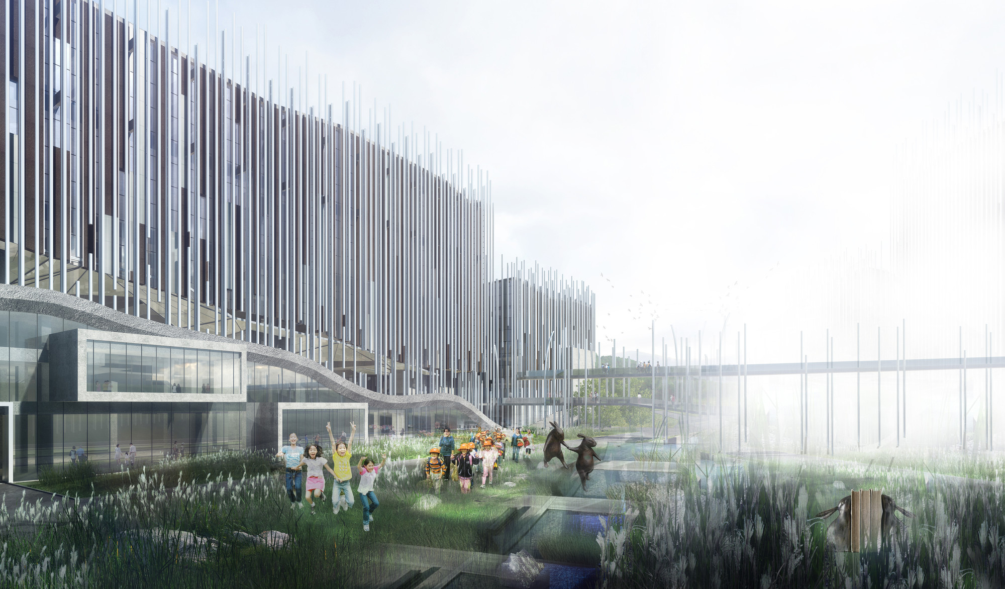 KRIS YAO | ARTECH Wins Competition to Design New Taipei City Museum of Art, © KRIS YAO | ARTECH