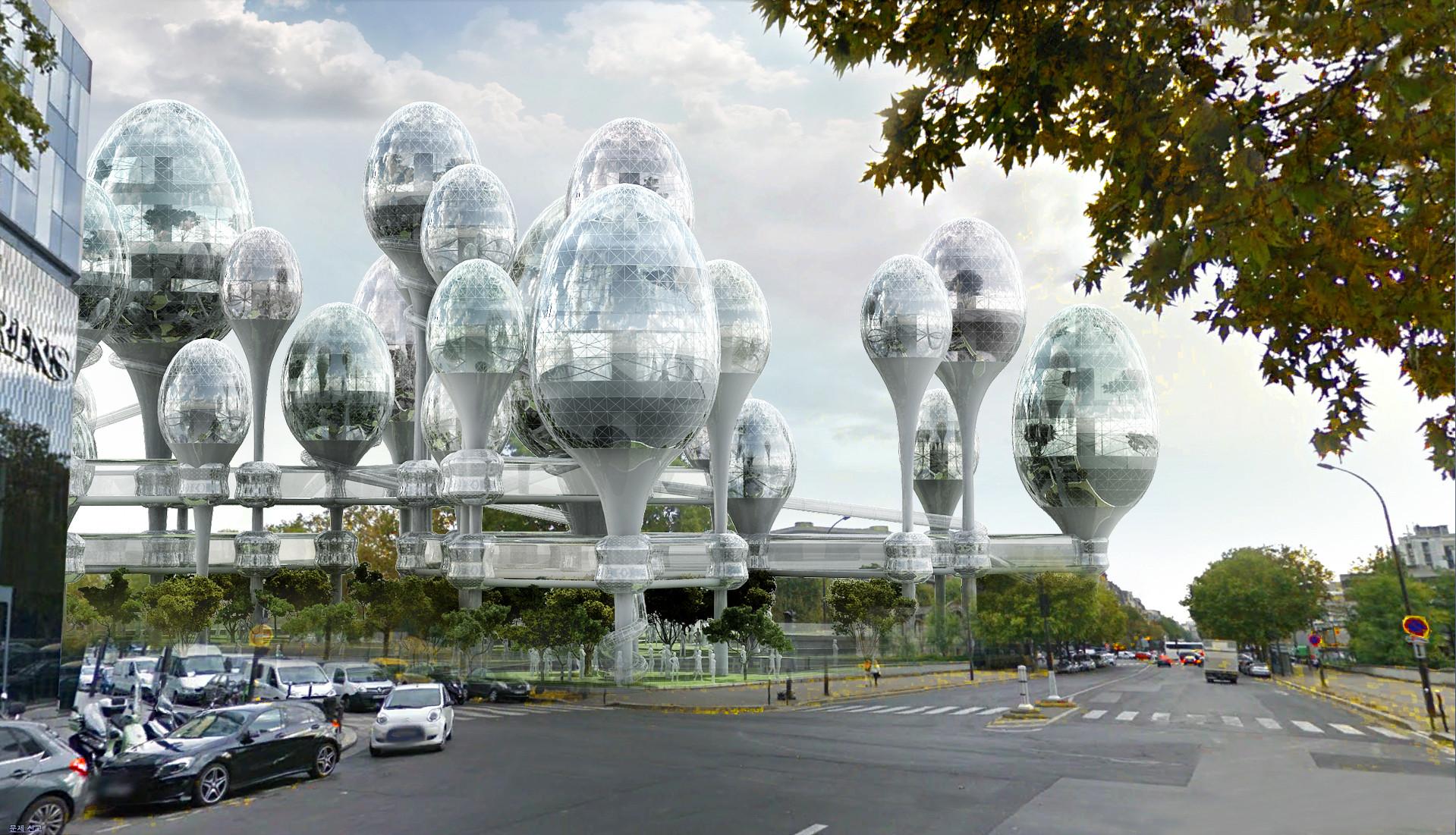 'Planning Korea' propone vacíos urbanos pensando en el futuro de París, © Planning Korea