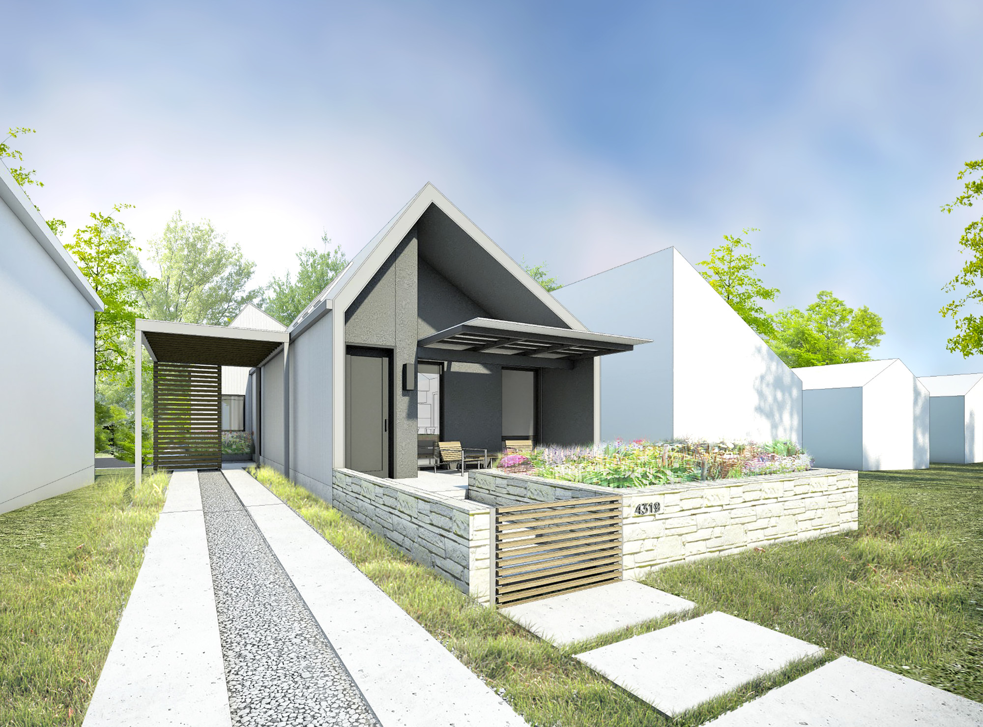 Make It Right Releases Six SingleFamily House Designs For Manheim - Single family home designs