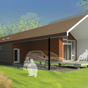 Home design by Pendulum Studio. Image Courtesy of Make It Right