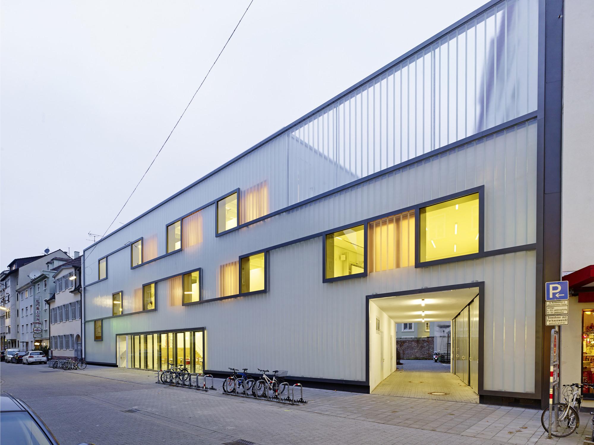 Fichte-Gymnasium Grammar School  / netzwerkarchitekten, © Jörg Hempel