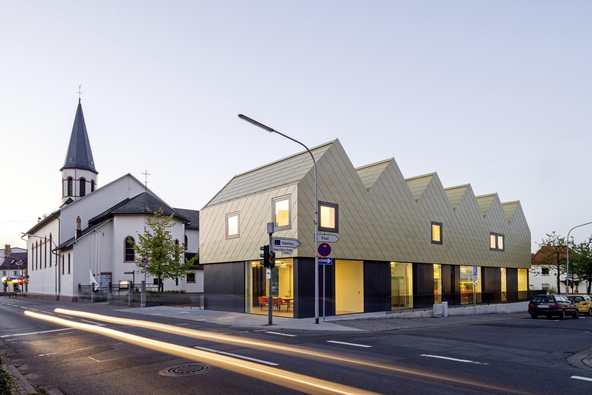 St Gallus Community Centre Netzwerkarchitekten Archdaily