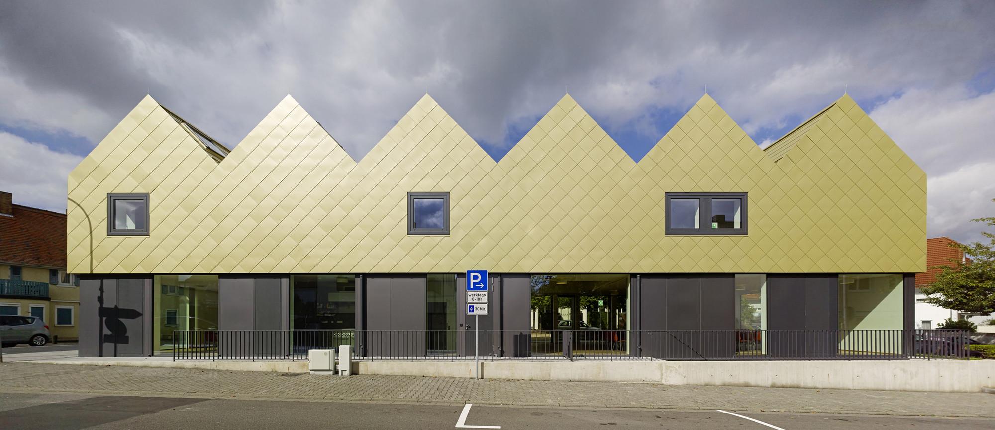 gallery of st  gallus community centre    netzwerkarchitekten