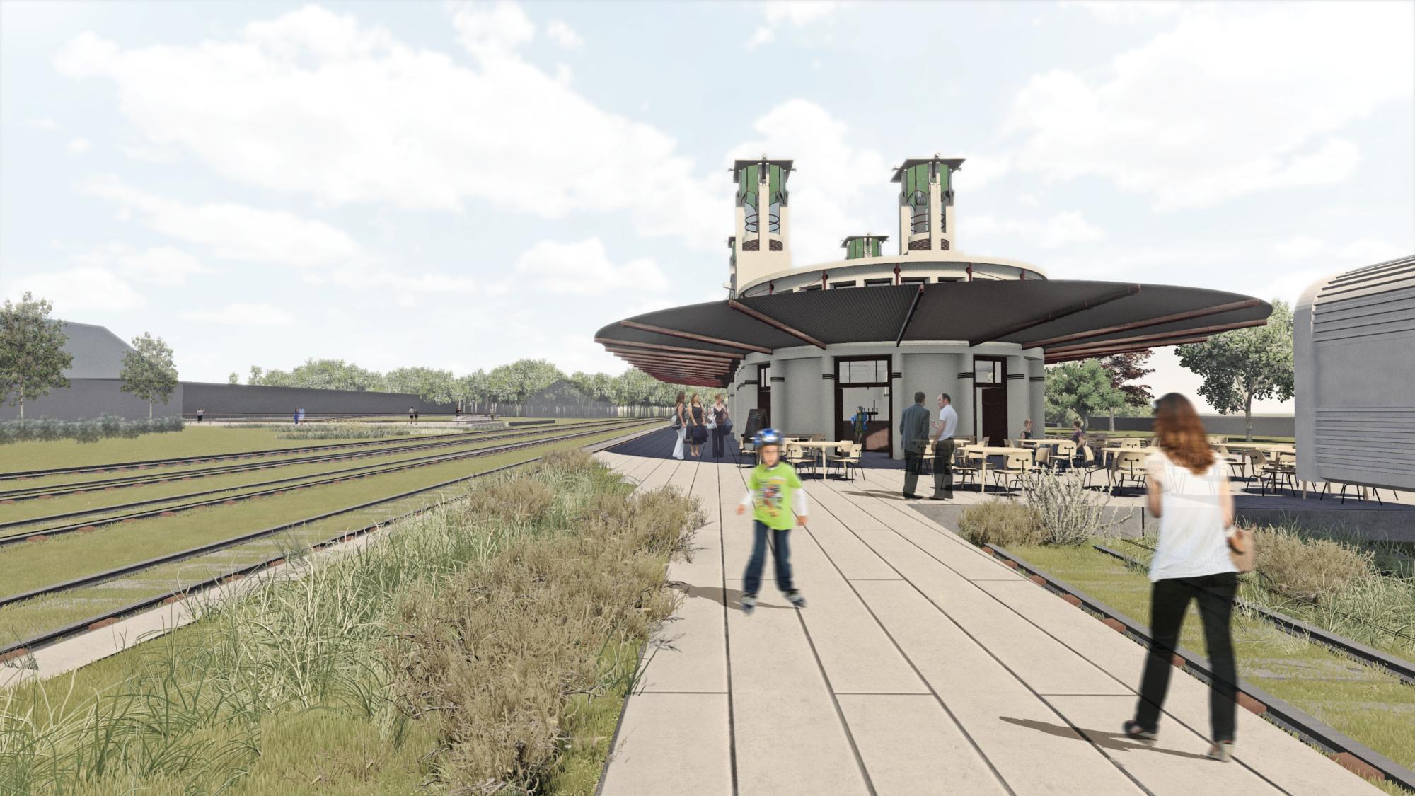Primeiro Lugar no Concurso para o Restauro da Estação Ferroviária de Mairinque / SIAA + HASAA, © SIAA + HASAA