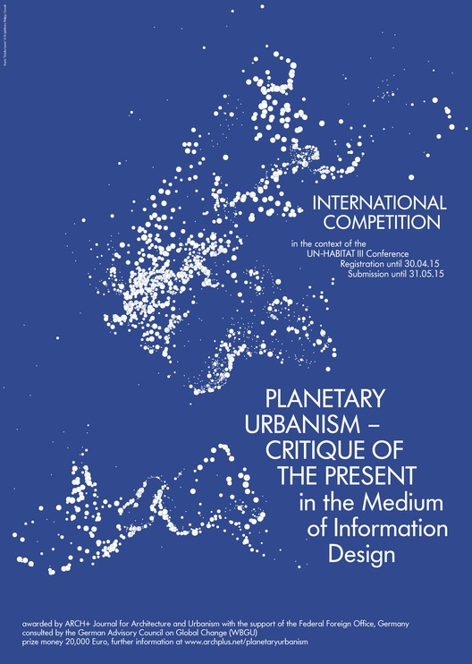 Call for Submissions: Planetary Urbanism - Critique of the Present , © ARCH+ Magazine for Architecture and Urbanism