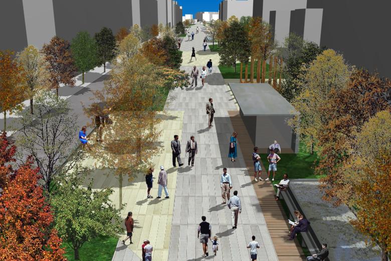 Primer Lugar Proyecto Reforma y Rehabilitación de la Avenida de la Constituci...