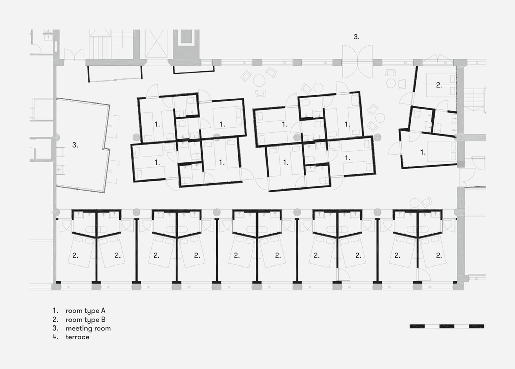 Gallery of dream hotel studio puisto architects 12 for Dream floor