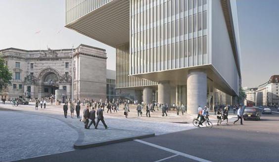 David Chipperfield realizará uno de sus proyectos más ambiciosos en el centro de Londres