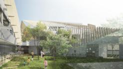 """Kengo Kuma divulga proposta para um """"hospital verde"""" em Tóquio"""