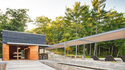 A Modern Boathouse in a Canadian Landscape / Weiss Architecture & Urbanism Limited