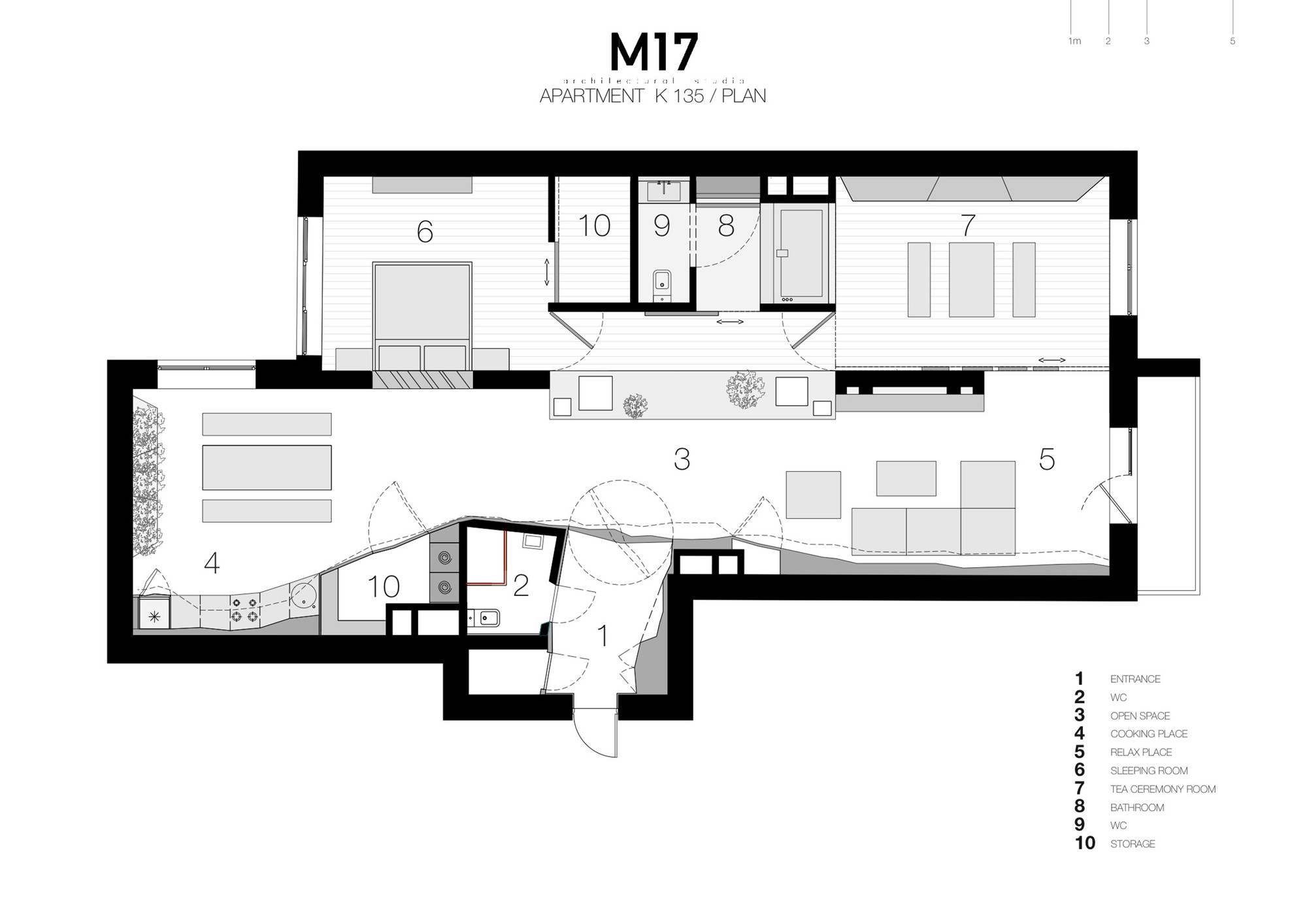 Apartment In Moscow,Floor Plan