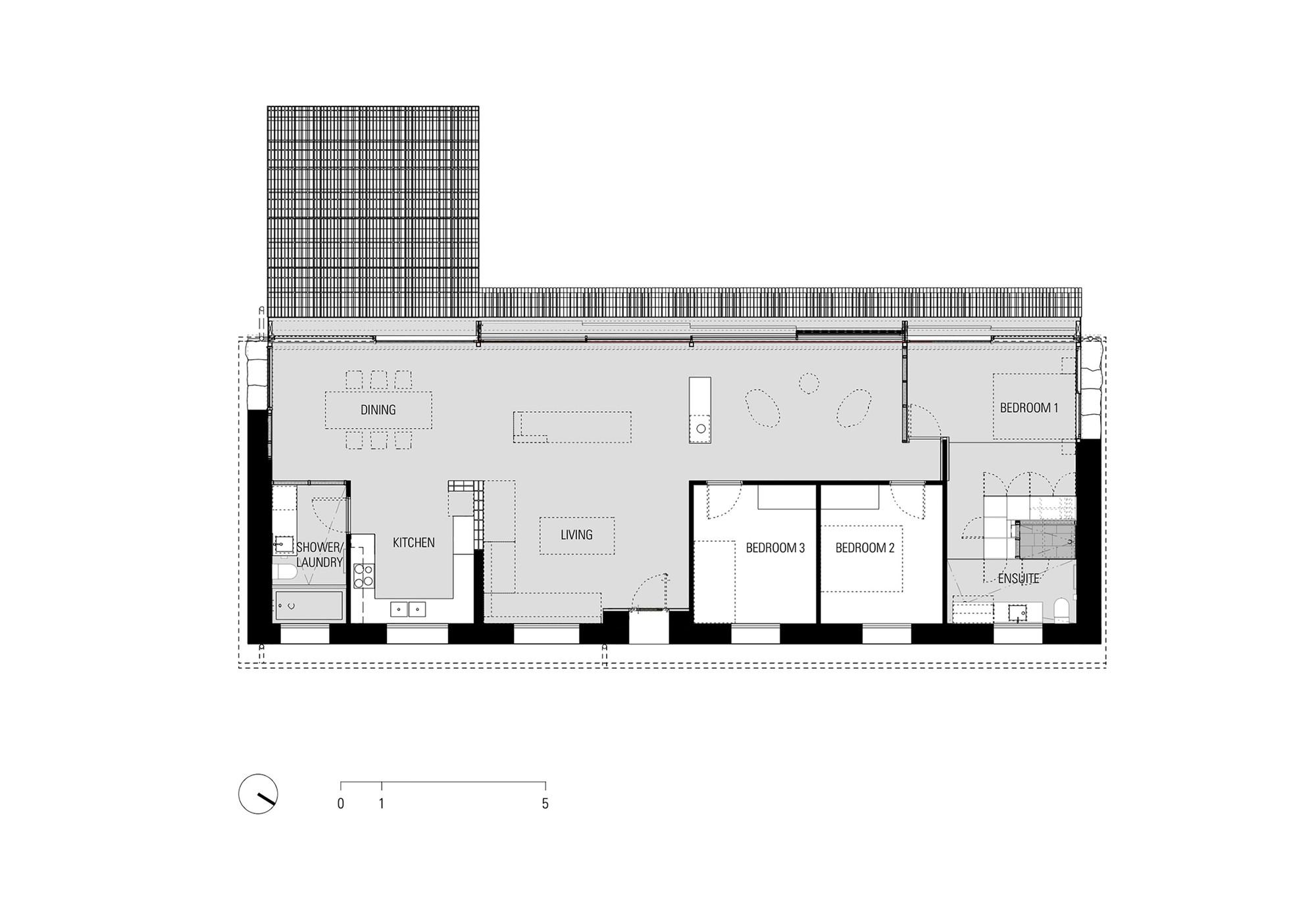 Gallery of Stone House CHROFI 12 – Stone House Floor Plans