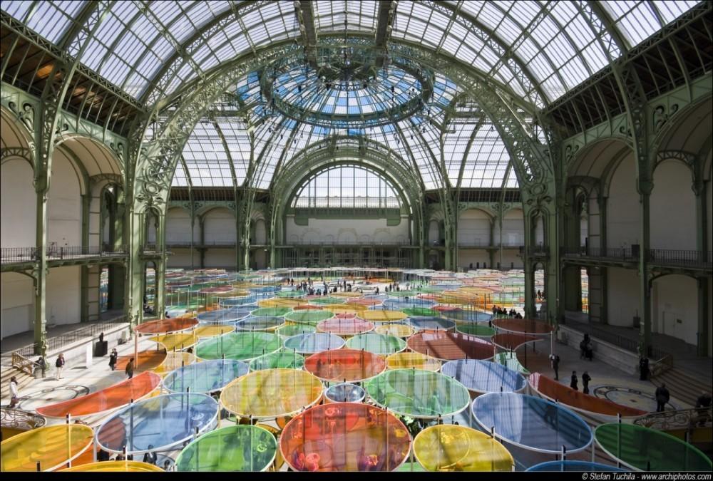 Excentrique(s), Monumenta 2012 / Daniel Buren