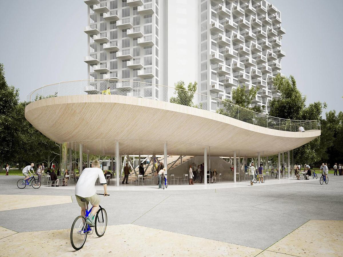 Pabellón de Bicicletas / NL Architects