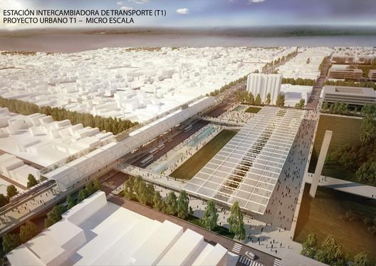 Novas Redes de Mobilidade como catalizadoras de Projetos Urbanos. Imagem Cortesia de Nahuel Recabarren