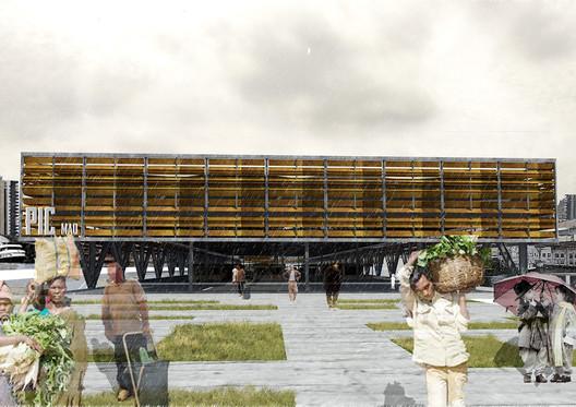 PIC: Plataforma de Intercâmbio Comercial. Imagem Cortesia de Nahuel Recabarren
