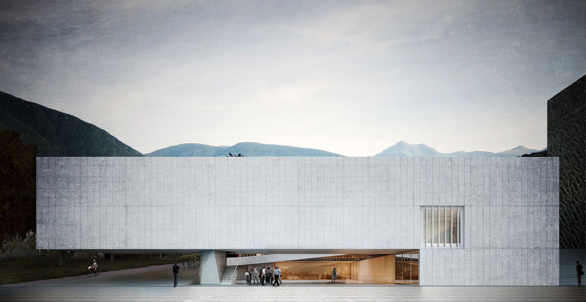 Aires Mateus + GSMM Architetti recebem menção honrosa em concurso para uma escola de música na Itália, Cortesia de Aires Mateus