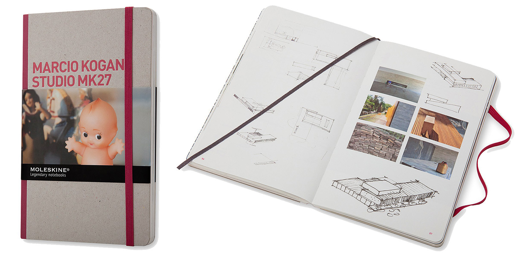 GIVEAWAY: Moleskine's Inspiration and Process in Architecture / Studio MK 27, Moleskine®-Inspiration and Process in Architecture