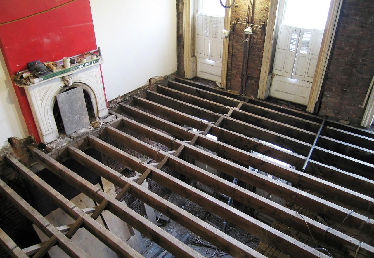 En Construcción: Renovación, Park Slope / Luis Velasco Roldán